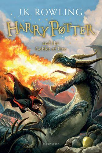 HARRY POTTER AND THE GOBLET OF FIRE (REJACKET)