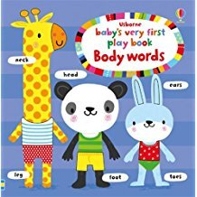 BABY'S VERY FIST PLAY BOOK BODY WORDS
