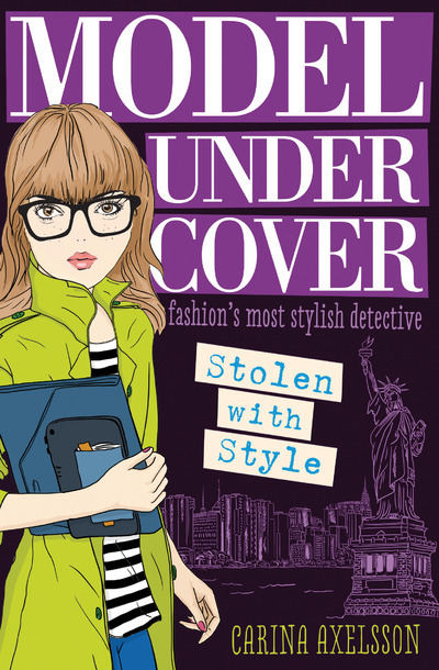 MODEL UNDER COVER STOLEN WITH STYLE