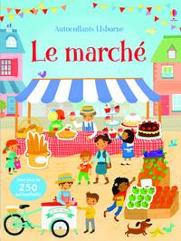 LE MARCHE - PREMIERS AUTOCOLLANTS