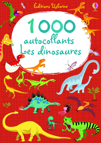 1000 AUTOCOLLANTS - LES DINOSAURES