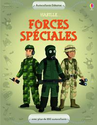 HABILLE... LES FORCES SPECIALES - AUTOCOLLANTS USBORNE