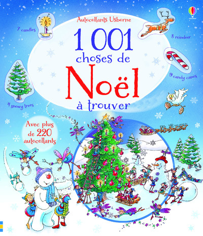 1 001 CHOSES DE NOEL A TROUVER - AUTOCOLLANTS USBORNE