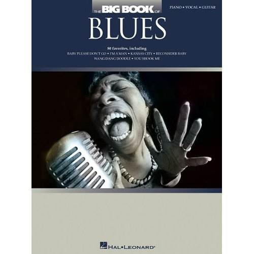 THE BIG BOOK OF BLUES PIANO, VOIX, GUITARE