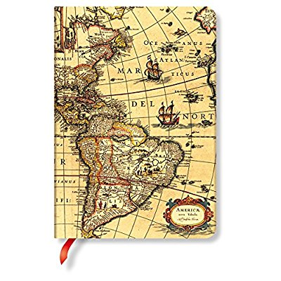 PAPERBLANCKS EARLY CARTOGRAPHY HEMISPHERE OUEST MIDI