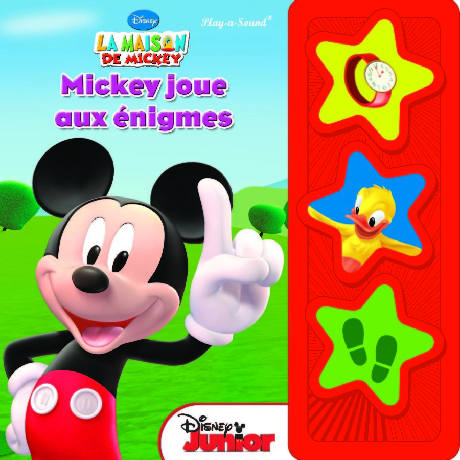 MICKEY JOUE AUX ENIGMES PREMIERE EDITION