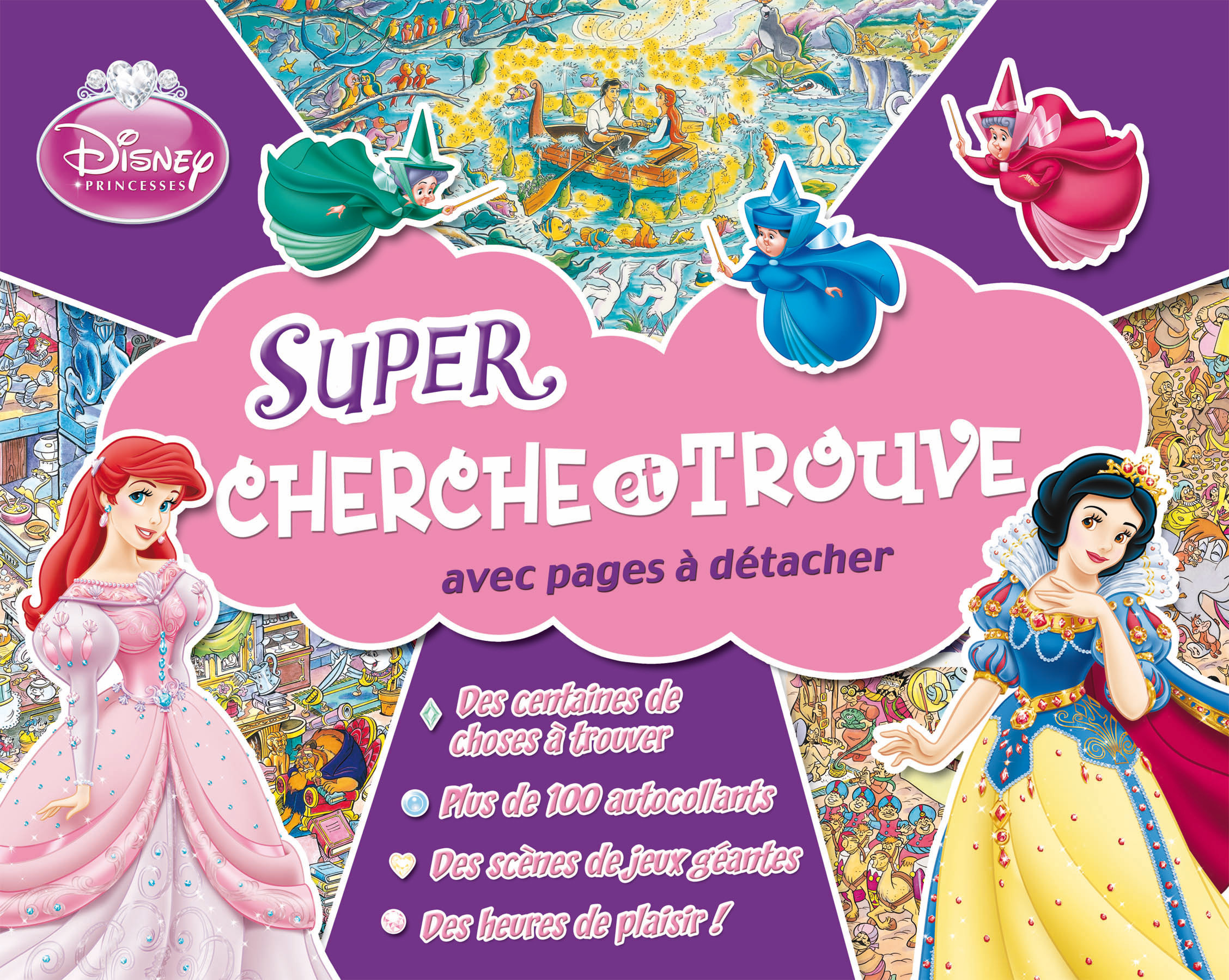 PRINCESSES DISNEY - CHERCHE ET TROUVE EN SETS DE TABLE PREMIERE EDITION