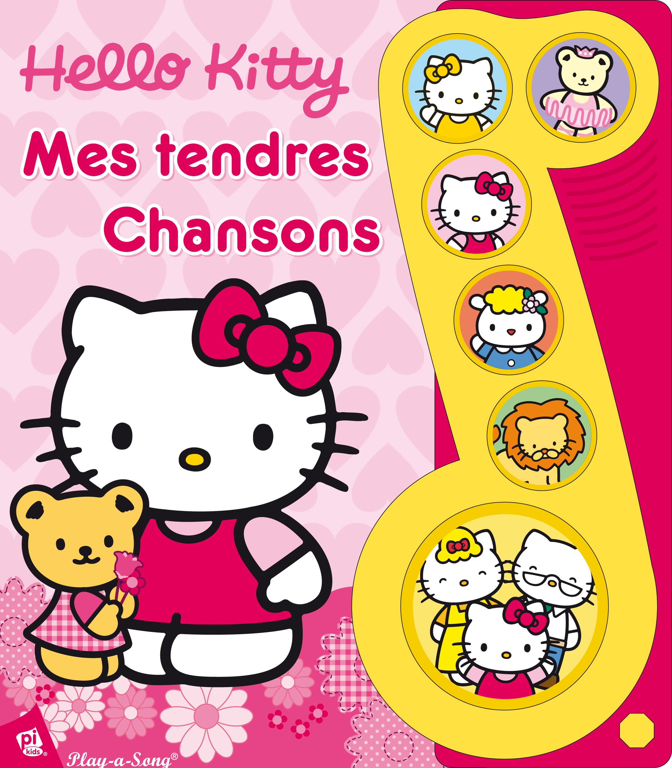 HELLO KITTY - MES TENDRES CHANSONS