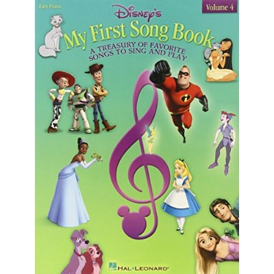 DISNEY'S MY FIRST SONGBOOK VOL. 4 PIANO
