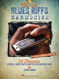 CLASSIC BLUES RIFFS HARMONICA HARMONICA +CD