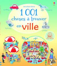 1 001 CHOSES A TROUVER EN VILLE - AVEC AUTOCOLLANTS