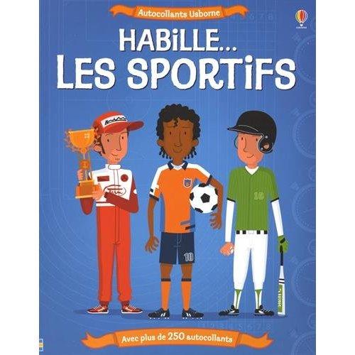 HABILLE... LES SPORTIFS - AUTOCOLLANTS USBORNE