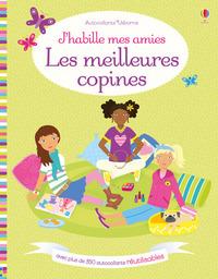 J'HABILLE MES AMIES - LES MEILLEURES COPINES - AUTOCOLLANTS USBORNE