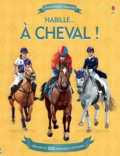 HABILLE  A CHEVAL