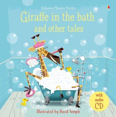 GIRAFFE IN THE BATH AND OTHER TALES - WITH AUDIO CD