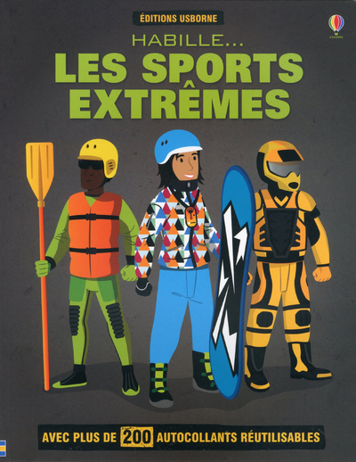 HABILLE  LES SPORTS EXTREMES