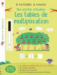 TABLES DE MULTIPLICATION  J APPRENDS EN M AMUSANT  JE TRACE  J