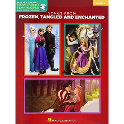 SONGS FROM FROZEN, TANGLED AND ENCHANTED PIANO +ENREGISTREMENTS ONLINE