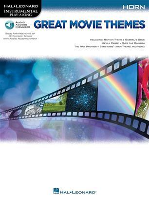 GREAT MOVIE THEMES: INSTRUMENTAL P-A HORN COR +ENREGISTREMENTS ONLINE