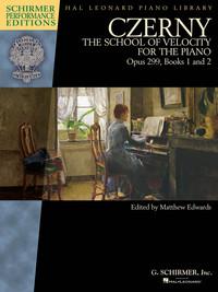 CZERNY - SCHOOL OF VELOCITY, OP. 299 PIANO