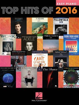 TOP HITS OF 2016 PIANO