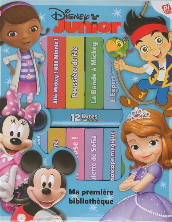 DISNEY JUNIOR - MA PREMIERE BIBLIOTHEQUE