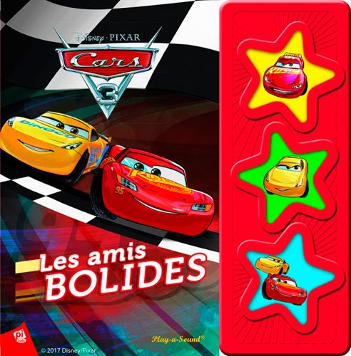 CARS 3 - LIVRE SONORE 3 BOUTONS