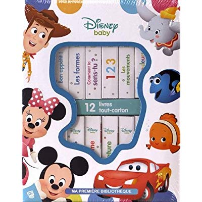 DISNEY BABY - MA PREMIERE BIBLIOTHEQUE