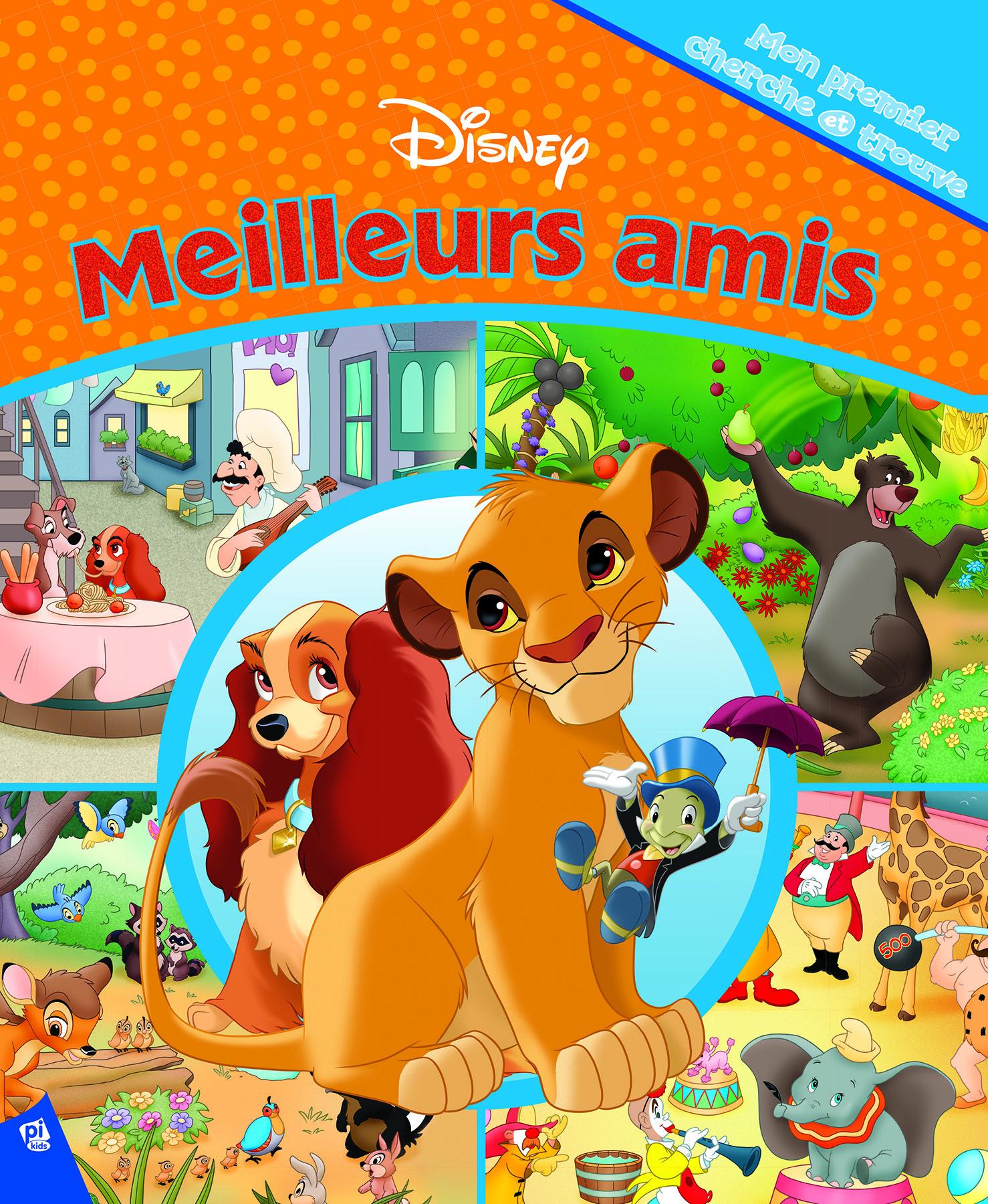 DISNEY MEILLEURS AMIS ET LE ROI LION - MON PREMIER CHERCHE ET TROUVE