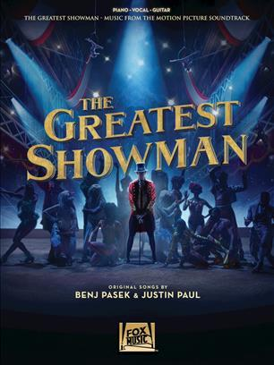 THE GREATEST SHOWMAN PIANO, VOIX, GUITARE