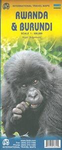 RWANDA/BURUNDI - 1/300.000