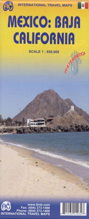 MEXICO/BAJA CALIFORNIA - 1/650.000