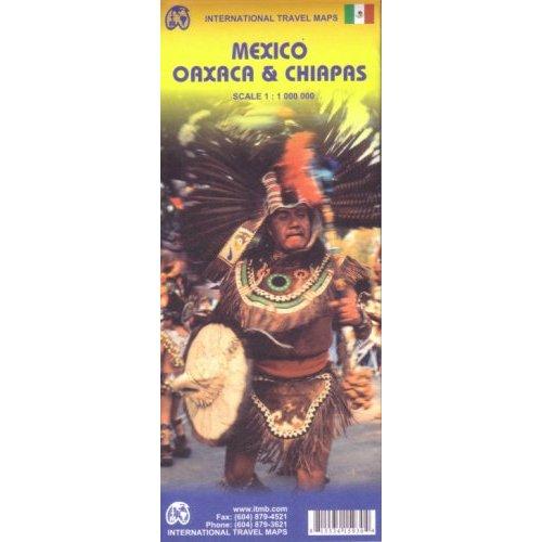 MEXICO-OAXACA/CHIAPAS - 1/1M