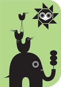 ELEPHANT AND BIRDS NOTEBOOK SUPER 7 /ANGLAIS