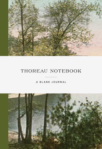 THOREAU NOTEBOOK /ANGLAIS