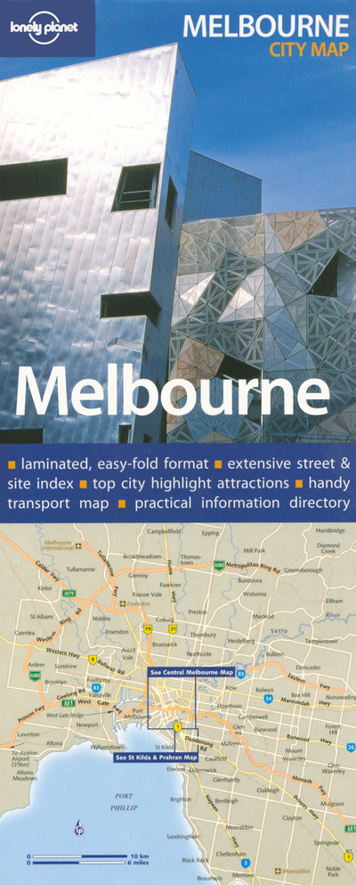 MELBOURNE NEW MAP  *** ENGLISH ***