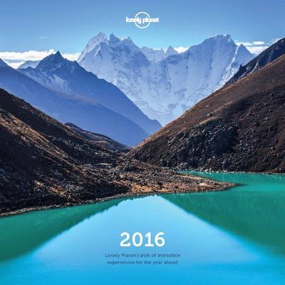 LONELY PLANET WALL CALENDAR 2016 -ANGLAIS-