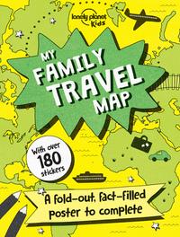 MY FAMILY TRAVEL MAP 1ED -ANGLAIS-