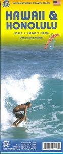 HAWAIIAN ISLAND - 1/150.000 WATERPROOF