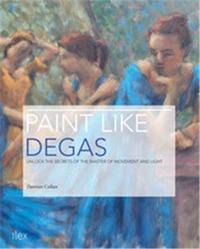 PAINT LIKE DEGAS /ANGLAIS