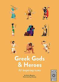 GREEK GODS AND HEROES /ANGLAIS