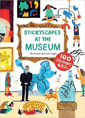 STICKYSCAPES AT THE MUSEUM /ANGLAIS