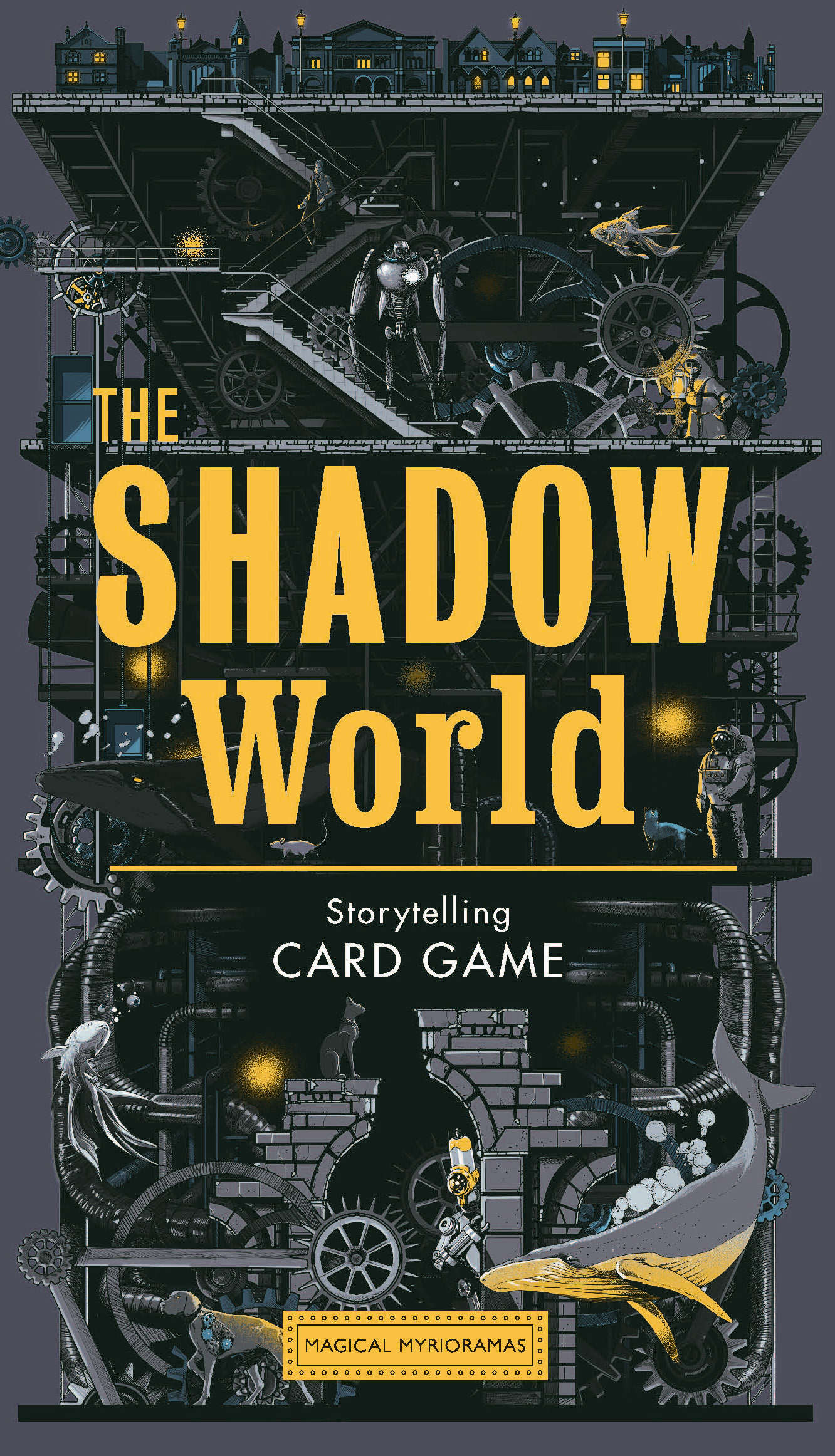 THE SHADOW WORLD A SCI-FI STORYTELLING CARD GAME (MAGICAL MYRIORAMAS) /ANGLAIS