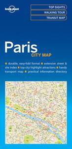 PARIS CITY MAP 1ED -ANGLAIS-