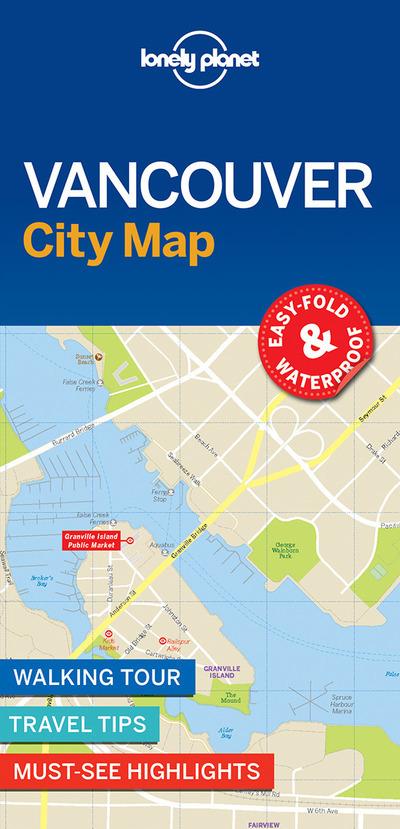 VANCOUVER CITY MAP 1ED -ANGLAIS-