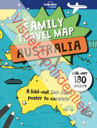 MY FAMILY TRAVEL MAP AUSTRALIA 1ED -ANGLAIS-