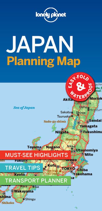 JAPAN PLANNING MAP 1ED -ANGLAIS-