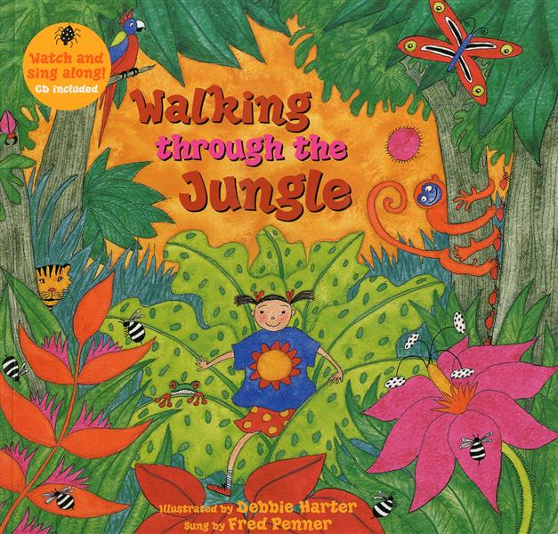 WALKING TROUGH THE JUNGLE CD