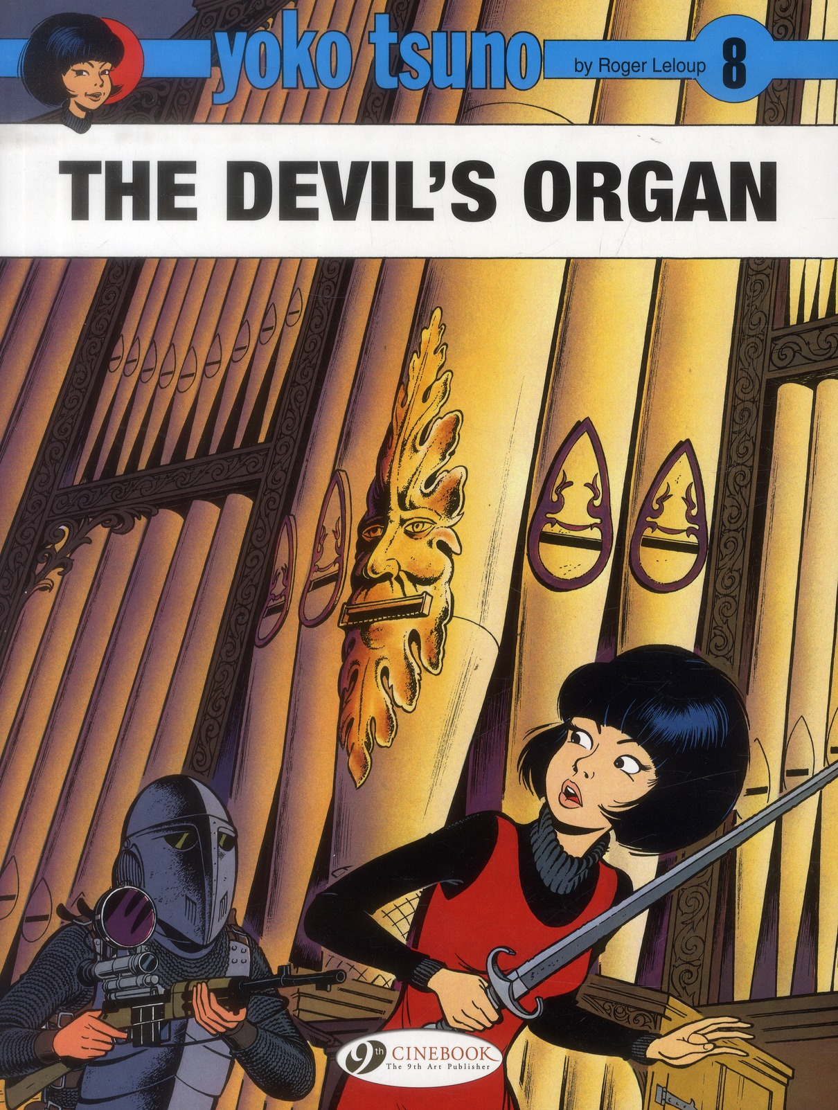 YOKO TSUNO - TOME 8 THE DEVIL'S ORGAN - VOL08