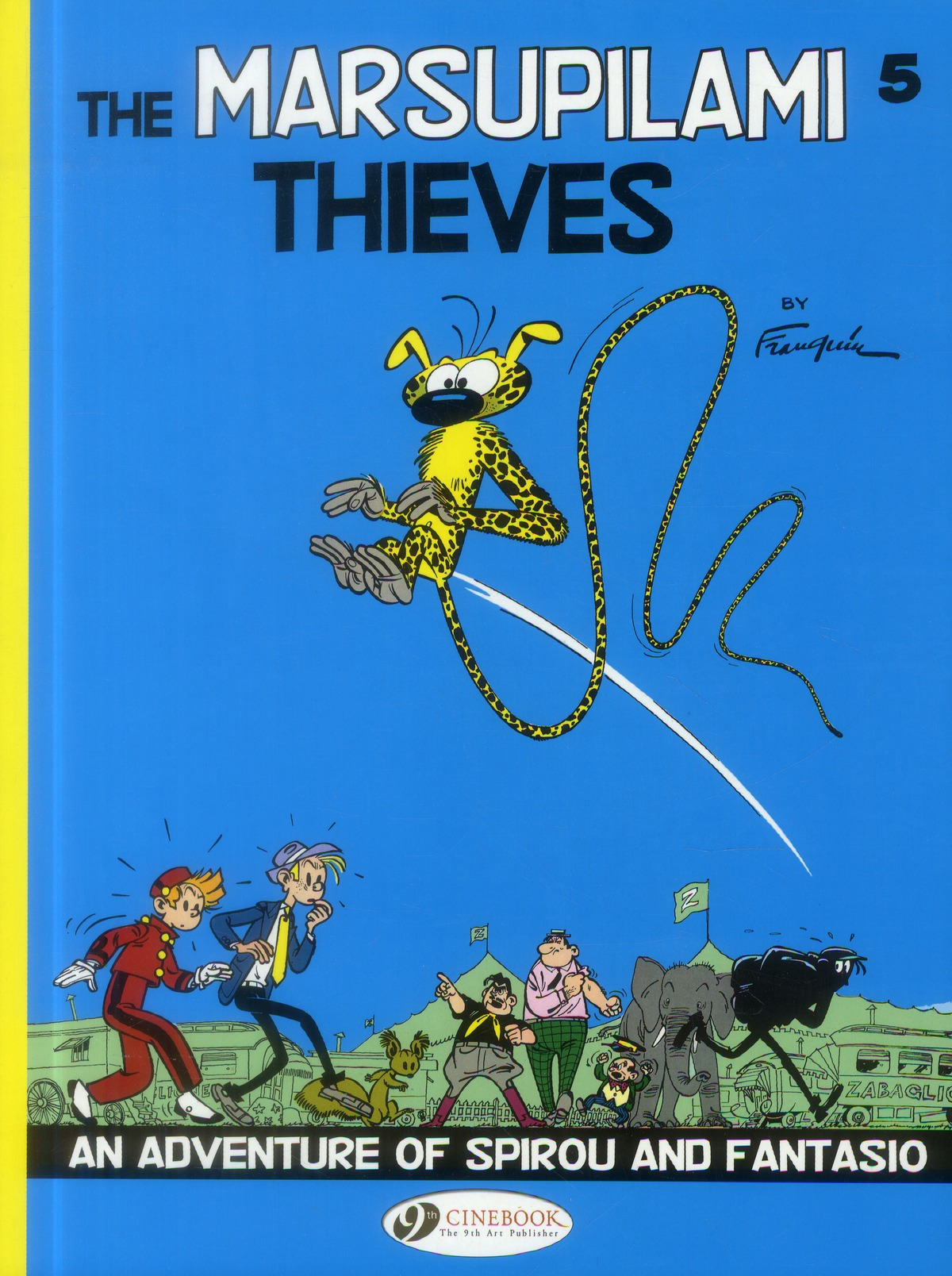 SPIROU & FANTASIO - TOME 5 THE MARSUPILAMI THIEVES - VOL05
